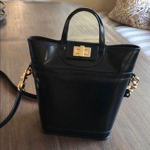 Tory Burch Black bucket purse